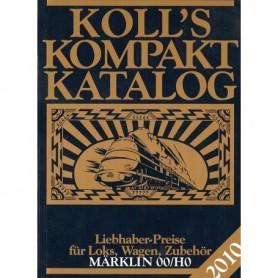 Media BOK195 Kolls Värderingsbok för Märklin 2010, pocket
