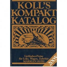 Media BOK196 Kolls Värderingsbok för Märklin 2005, pocket