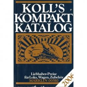 Media BOK197 Kolls Värderingsbok för Märklin 2006, pocket