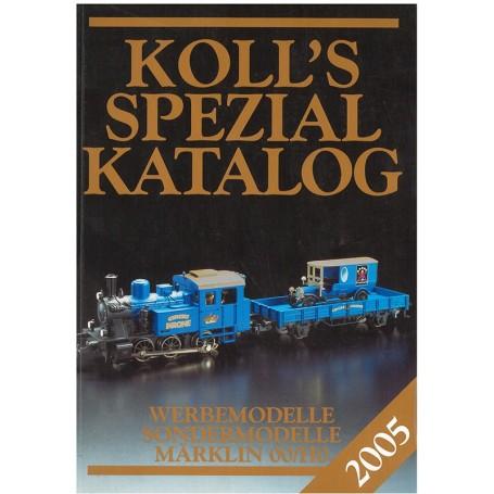 Media BOK198 Kolls Värderingsbok för Märklin 2005, spezial