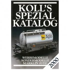 Media BOK200 Kolls Värderingsbok för Märklin 2000, spezial
