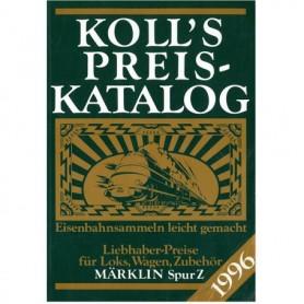 Media BOK202 Kolls Värderingsbok för Märklin 1996, spår Z