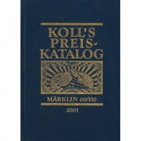 Media BOK206 Kolls Värderingsbok för Märklin 2001, inbunden