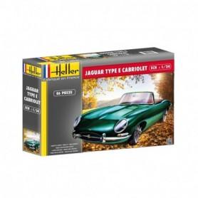 Heller 80719 Jaguar Type E Cabriolet
