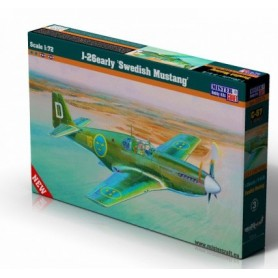 "Mister Craft 030575 Flygplan J-26 P-51B ""Swedish Mustang"""