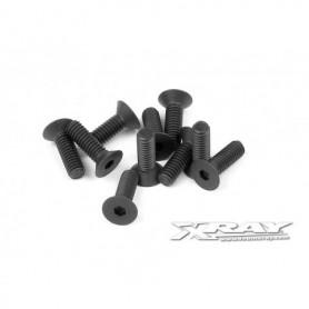 XRay 903256 Skruv, insex, försänkt, M2.5x6mm, 10 st