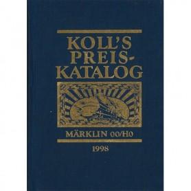 Media BOK209 Kolls Värderingsbok för Märklin 1998