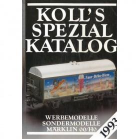 Media BOK211 Kolls Värderingsbok för Märklin 1993, spezial