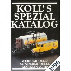 Media BOK212 Kolls Värderingsbok för Märklin 1996, spezial
