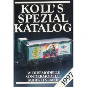 Media BOK213 Kolls Värderingsbok för Märklin 1997, spezial
