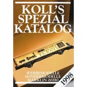 Media BOK214 Kolls Värderingsbok för Märklin 1998, spezial