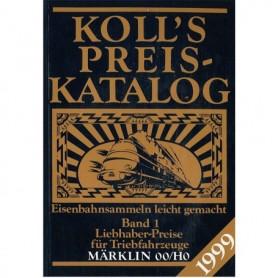 Media BOK215 Kolls Värderingsbok för Märklin 1999, band 1