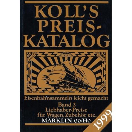 Media BOK216 Kolls Värderingsbok för Märklin 1999, band 2