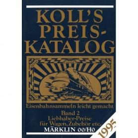 Media BOK217 Kolls Värderingsbok för Märklin 1995, band 2