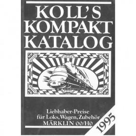 Media BOK221 Kolls Värderingsbok för Märklin 1995, pocket