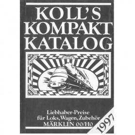 Media BOK222 Kolls Värderingsbok för Märklin 1997, pocket