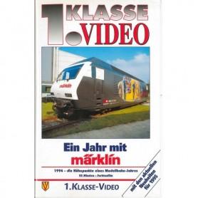 """Märklin VHS5 Video VHS """"Ein Jarh Mith Märklin 1995"""""""