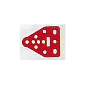 Märklin Metall 11360 Täckbricka, triangulär, flat
