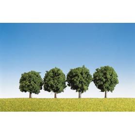 Faller 181412 Lövträd, 4 st, ca 6 cm hög