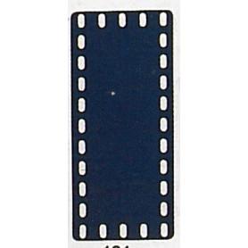 Märklin Metall 11421 Täckplatta, 5 x 11 hål, mått 60 x 140 mm