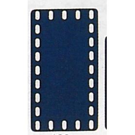 Märklin Metall 11419 Täckplatta, 5 x 9 hål, mått 60 x 110 mm