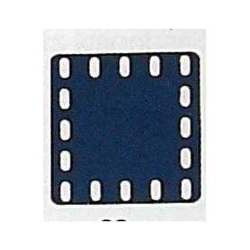 Märklin Metall 11415 Täckplatta, 5 x 5 hål, mått 60 x 60 mm