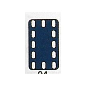 Märklin Metall 11405 Täckplatta, 3 x 5 hål, mått 35 x 60 mm