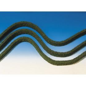Faller 181489 Häckar, 3 st, grön, mått 50,0 x 1,0 x 2,7 cm