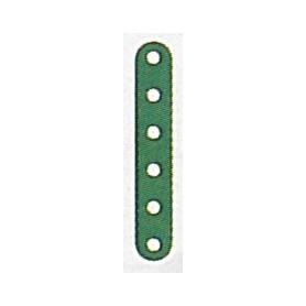 Märklin Metall 10006NY Flatband, 6 hål, 75 mm