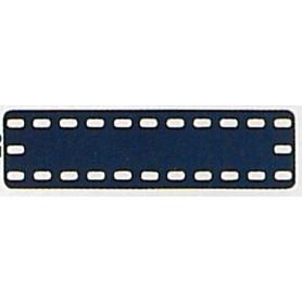 Märklin Metall 11411NY Täckplatta, 3 x 11 hål, mått 35 x 140 mm