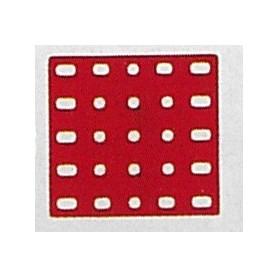 Märklin Metall 11351NY Platta, 5x5 hål, 60x60 mm