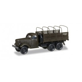 "Herpa 745369 ZIL 151 canvas trailer with truck tarp hoops ""UDSSR Army"""
