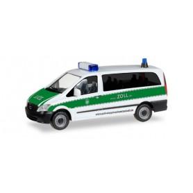 """Herpa 092289 Mercedes Benz Vito Bus """"Zoll stoppt Schwarzarbeit"""""""