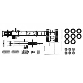 Herpa 084451 Chassis for truck Volvo FH 3-achs Content: 2 pcs.
