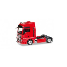 Herpa 302029.3 MAN TGX XXL Euro 6 rigid tractor with accessories, flame red
