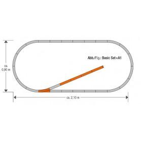 "Roco 61150 Utbyggnadsset ""GeoLine Track set A1"""