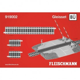"Fleischmann 919002 Utbyggnadsset ""Piccolo Track set BÜ"""