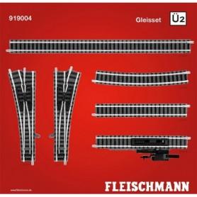 "Fleischmann 919004 Utbyggnadsset ""Piccolo Track set Ü2"""