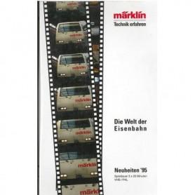 """Märklin VHS7 Video VHS """"Neuheiten 95"""""""