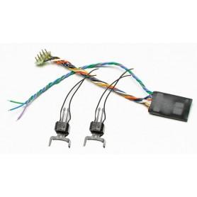 Roco 40411 Digitalkoppel, 2 st, passar både för AC och DC