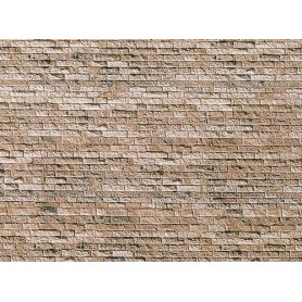 "Faller 222563 Murplatta ""Basalt"", mått 25,0 x 12,5 cm, papp"