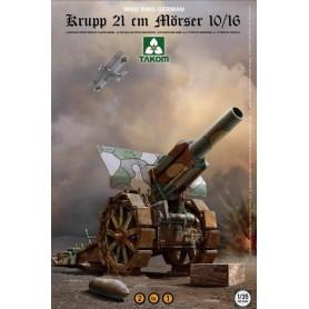 Takom 2032 Krupp 21 cm Mörser 10/16