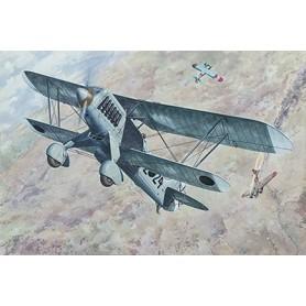 Roden 452 Flygplan Heinkel He51 B.1