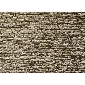 """Faller 222566 Murplatta """"Bruchstein"""", mått 25,0 x 12,5 cm, papp"""