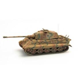 Artitec 38719CM Tanks Tiger II (Henschel) med zimmerit, yellow camouflage