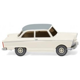 Wiking 12101 DKW Junior de Luxe pearl white with gray roof