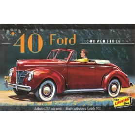 Lindberg 119 Ford Convertible 40