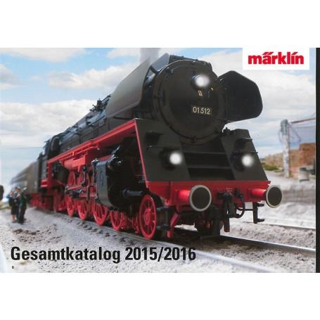 Märklin 15730 Märklin Katalog för 2015/2016 Tyska