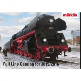 Märklin 15731 Märklin Katalog för 2015/2016 Engelska
