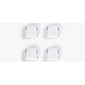 Herpa 052207 Air conditioning unit (4 pieces white)